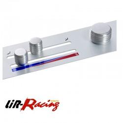 Bouton de contrôle du chauffage en Aluminium pour Elise/Exige S1