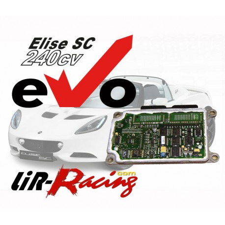 Reprogrammation eVo 240 Lotus Elise SC