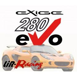 Kit eVo 280 pour Exige 240 et Cup / 2-Eleven